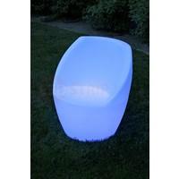 Ovale LED Sofa Stoel met rugleuning