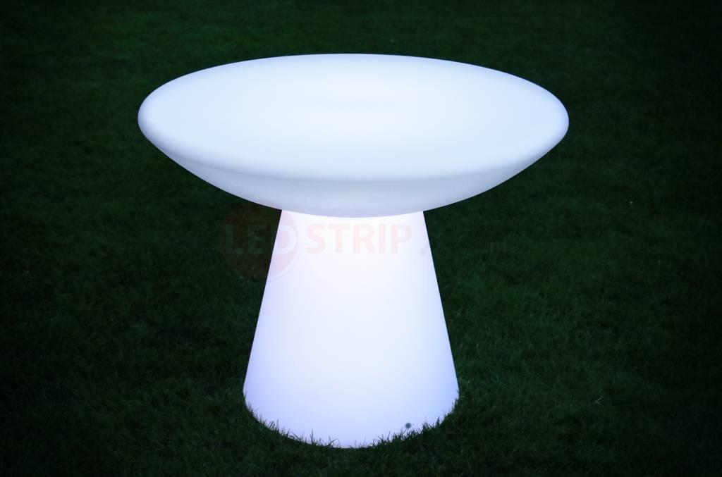 Hoge LED Tafel Rond H70 cm