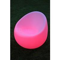 Bolvormige LED Sofa Stoel met RGB Multikleur