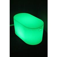 Lichtgevende LED Tafel Ovaal 85x48x46 CM