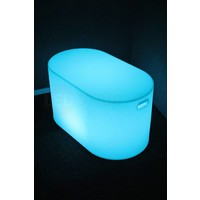 Lichtgevende LED Tafel Ovaal 85x78x46 CM