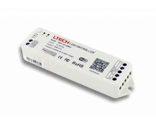 LTECH WiFi LED Controller met DMX512 output