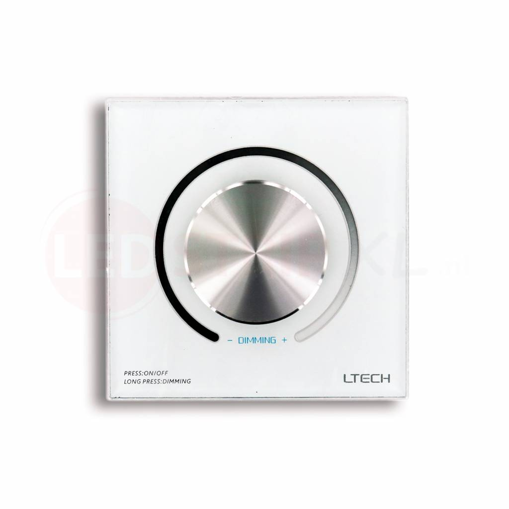 Ltech led dimmer wandpaneel 12 24v en 0 1 10v model d61 - Led wandpaneel ...