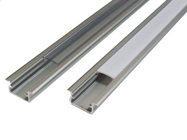 Lumines Aluminium Inbouw Profiel Middel 1m