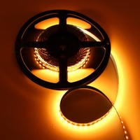 Nichia LED Strip 2000K Flame Wit 5 meter 24V - Deluxe