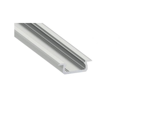 Lumines Aluminium Inbouw Profiel Laag1 meter