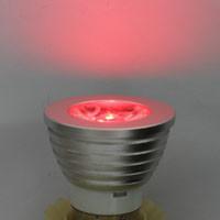 Dolphix E27 RGB  LED-Spot met infrarood afstandsbediening - 3Watt - Dimbaar