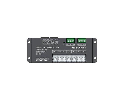 Euchips RGBW DMX Decoder 32A 384-768W
