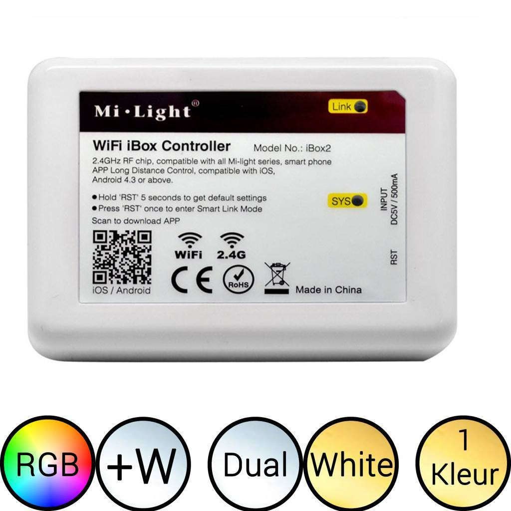 Milight iBox 2 WiFi module voor LEDStrip & LED Lamp