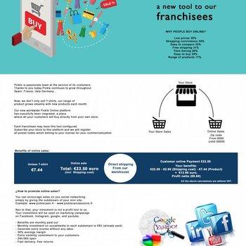 Design Garments 12 months subscription for online platform Picklestore.nl