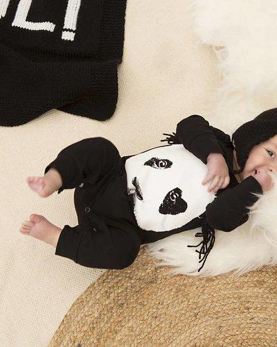 Lucky No. 7 Panda Onesie