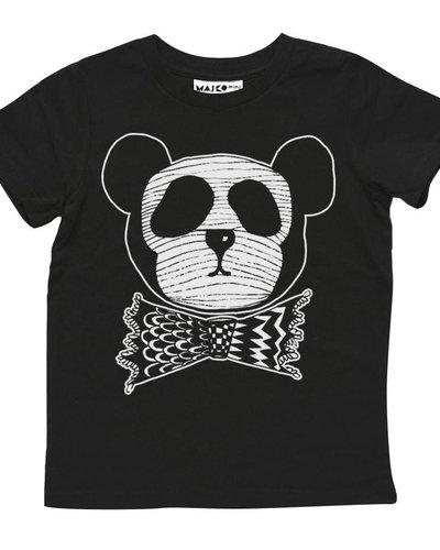 MAIKO MINI Panda dude t-shirt black