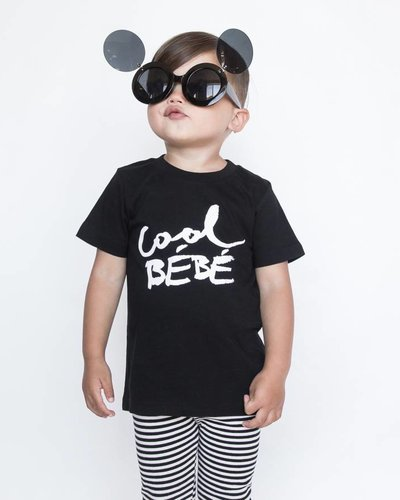 MAIKO MINI Cool bebe t-shirt black