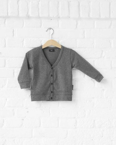 Lucky No. 7 Little Grey Cardigan