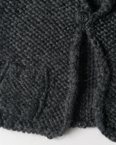 Tocoto Vintage Knitted Waistcoat Grey