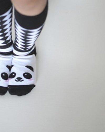 Panda Kneesocks