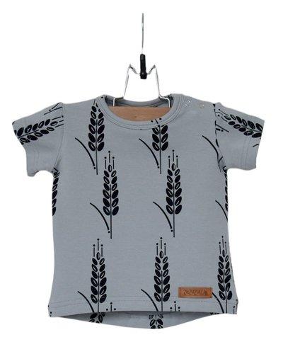 Zezuzulla T-Shirt Black Grain