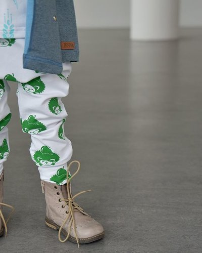 Zezuzulla Julong Trousers Green Hedgehog