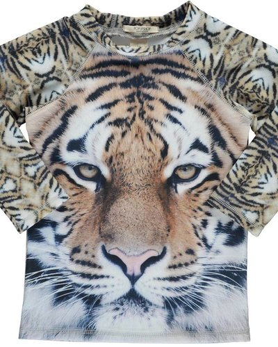 Popupshop Swim Blouse UV Tiger