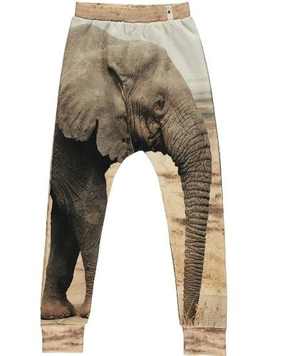 Popupshop Baggy Leggings Elephant