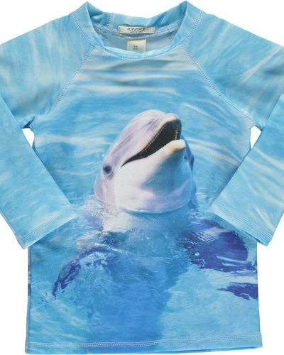 Popupshop Swim Blouse UV Dolphin