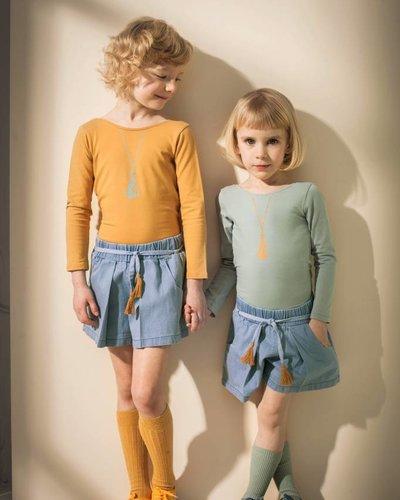 Kids On The Moon Saffron Kimono Body