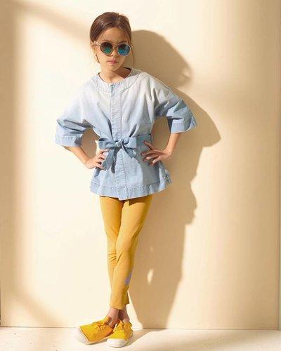 Kids On The Moon Denim Kimono Jacket