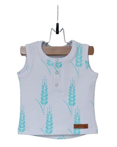 Zezuzulla Zezu Shirt Turquoise Grain