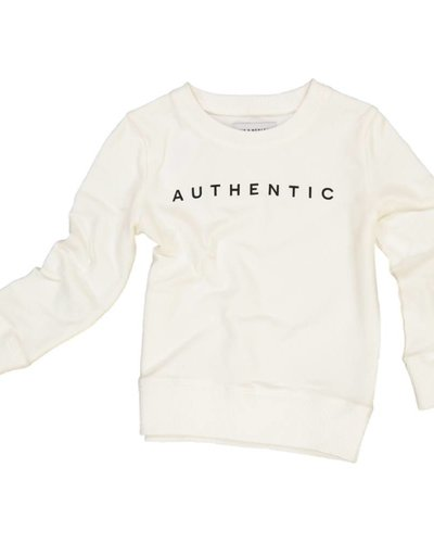 Jax & Hedley Authentic Sweatshirt - Cream