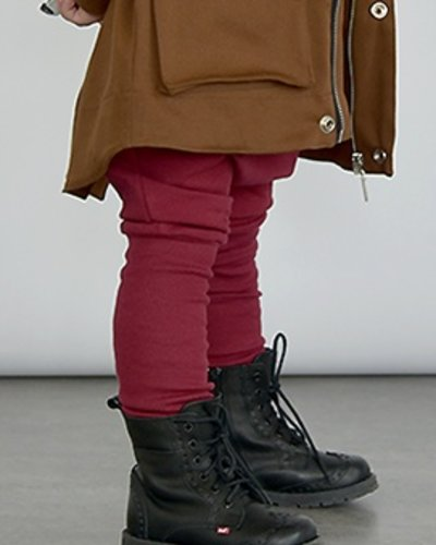 Zezuzulla Ribbing Trousers Crimson