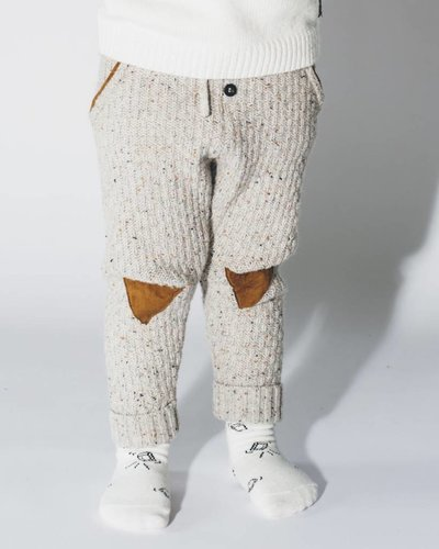 Sproet & Sprout Knitted socks with icecubeprint