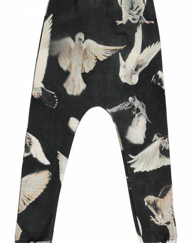 Popupshop Baggy Legging Black Birds