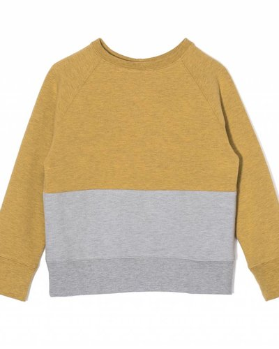 Kids On The Moon Two Coloured Sweater