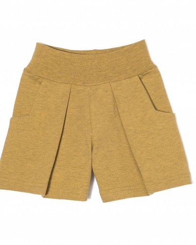 Kids On The Moon Jersey Shorts - Saffron Marl