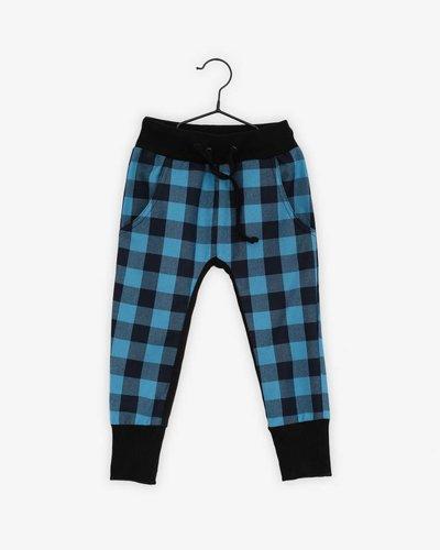 Pan Pantaloni Blue Tartan Skinnies