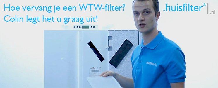 Hoe vervang je een WTW-filter