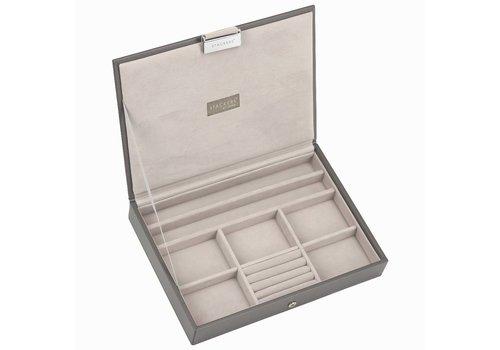 STACKERS Classic Top-Box | Mink & Grey Velvet