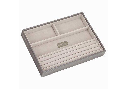 STACKERS Classic 4-Box | Mink & Grey Velvet