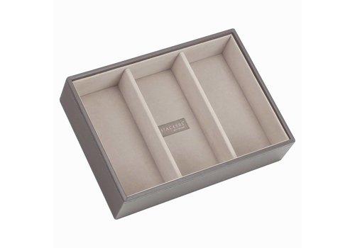 STACKERS Classic 3-Box | Mink & Grey Velvet