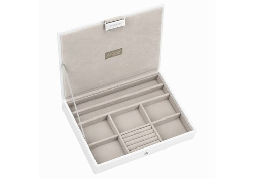 STACKERS Classic Top Box | White