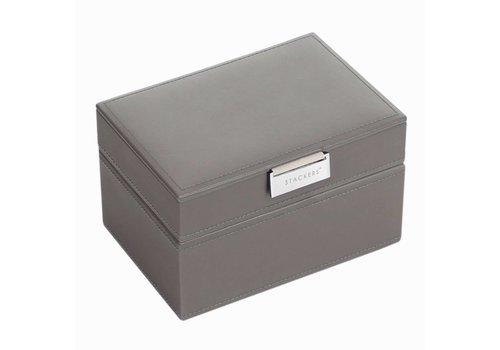 STACKERS Mini 2-Set | Mink & Grey Velvet