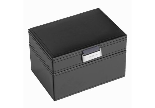 STACKERS Box Mini 2-Set Zwart & Grijs