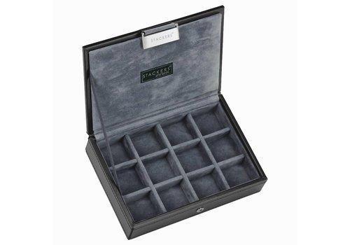 STACKERS Box Mini Top Zwart & Grijs