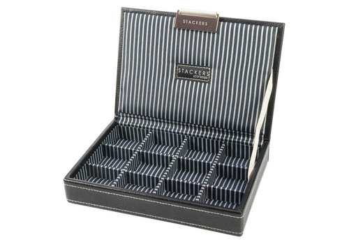 STACKERS Box Mini Top Zwart & Strepen