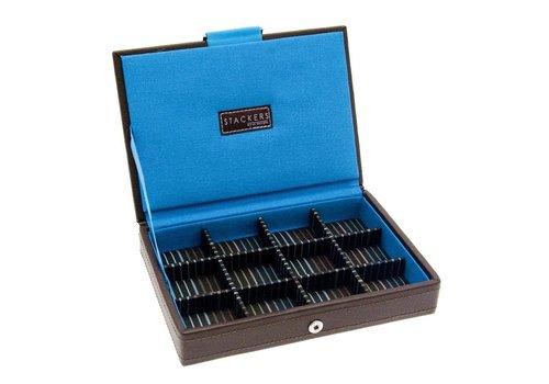 STACKERS Box Mini Top Bruin & Strepen