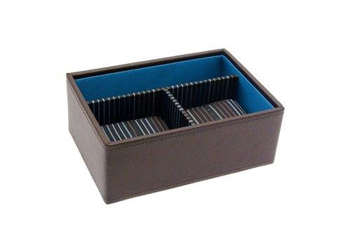 STACKERS Box Mini 3-Section Bruin & Strepen