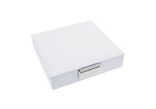 STACKERS Charm Top-Box | White & Grey Velvet