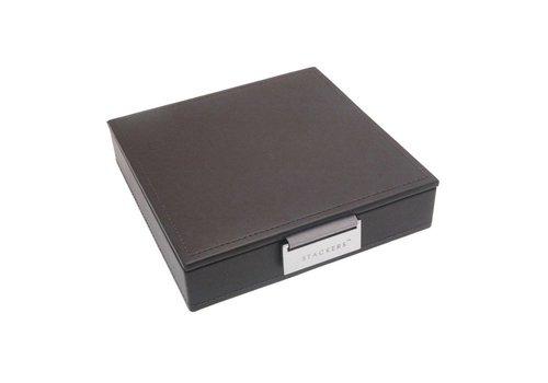 STACKERS Charm Top-Box | Mink & Grey Velvet