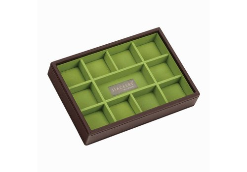 STACKERS Mini 11-Section Chocolate