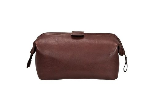 DULWICH Wash Bag - Brown